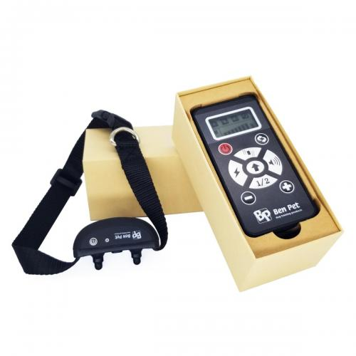 Benpet 2in1 elektromos nyakörv és ugatásgátló nyakörv
